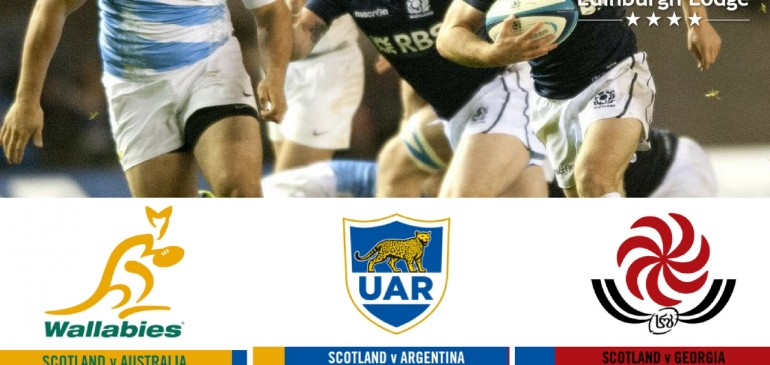 Scottish Rugby Autumn Tests 2016 at Murrayfield